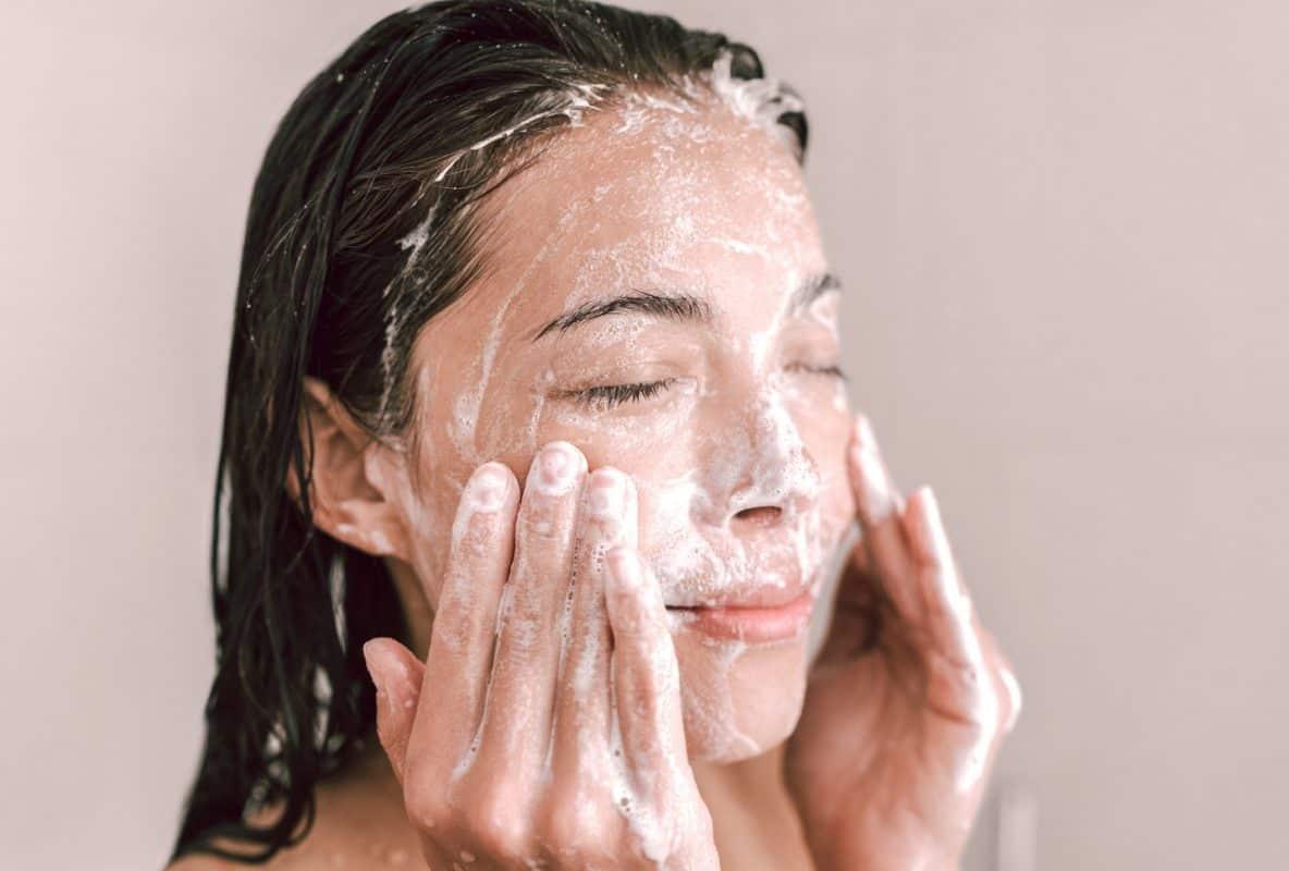 face wash soap acne